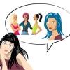 Mavi Saçlı Olmayı Düşünen Kadın