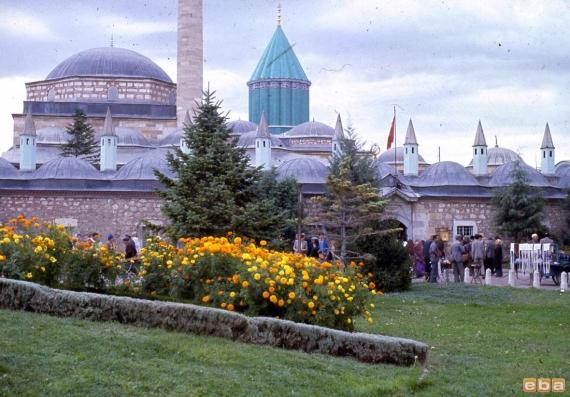 Konya, Mevlana Türbesi, 1971