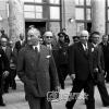 Atatürk Ankara Garı'nda, 1936