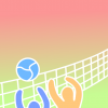 Arka Plan - Background - Voleybol - Volleyball