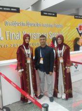 Erbaa Yılmaz Kayalar Fen Lisesi, 45. TÜBİTAK Araştırma Projeleri Yarışmasında Türkiye birincisi