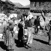 Ankara Beypazarı - yemek dağıtan kadınlar