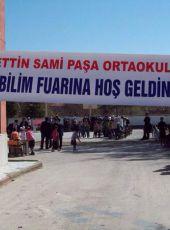 Afyonkarahisar/Bolvadin Kemalettin Sami Paşa Ortaokulu'nda TÜBİTAK Bilim Fuarı