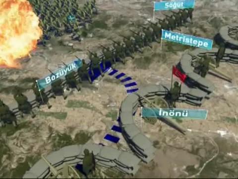 1. İnönü Muharebesi (1. Harita)